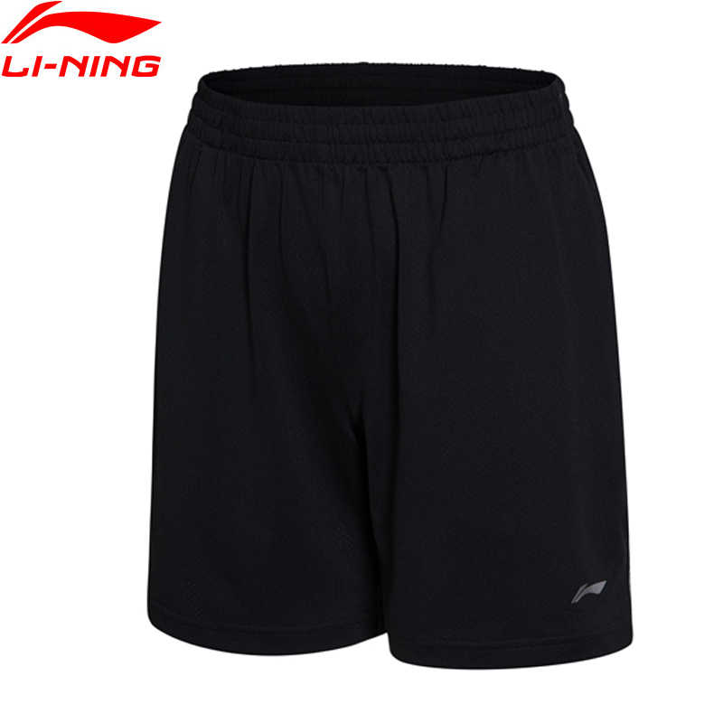 Li-Ning Women Badminton Competition Bottom AT DRY 92%Polyester 8%Spandex Loose Fit LiNing Sports Shorts AAPM138 WKY123