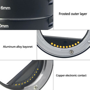 Image 5 - Meike Messa A Fuoco Automatica Macro Tubo di Prolunga Anello Adattatore per Sony E mount NEX3 NEX 5 NEX 7 NEX 6 A7 A7II A7III A6000 a6300 A6400