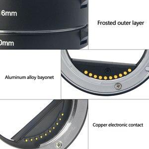 Image 5 - Đế Pin Meike Tự Động Lấy Nét Ống Macro Adapter Ring Cho Sony E Mount NEX3 NEX 5 NEX 7 NEX 6 A7 A7II A7III A6000 a6300 A6400