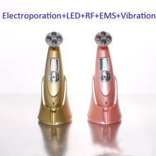 Portable RF Radio Frequency Skin Rejuvenation Beauty Massager EMS Face Lift Photon Therapy Device