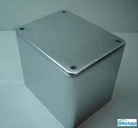 Transformer Cover 130X100X116 Brushed Whole Aluminum Power Transformer Covers for Tube amplifier HIFI Audio DIY