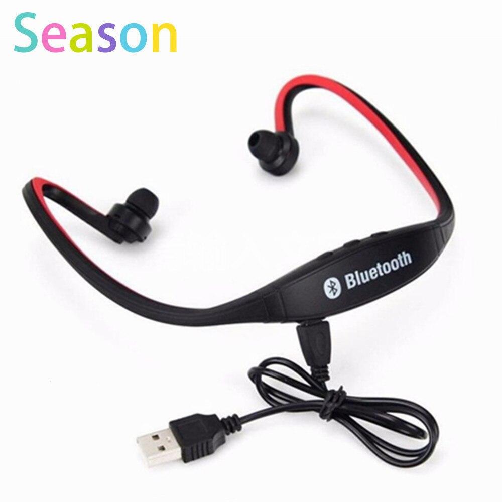 High quality S9 Bluetooth Headphones Sport Wireless BT 4.0 Earphone Headset  for iPhone Samsung fone de ouvido high quality 2016 universal wireless bluetooth headset handsfree earphone for iphone samsung jun22