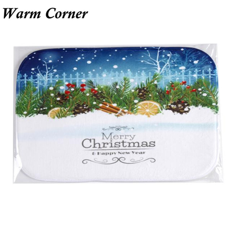 2017 New Holiday So Hot Welcome Mat Outdoor Indoor Festive Christmas Decor Doormat Anti-Slip Anti-Bacteria Sept 23