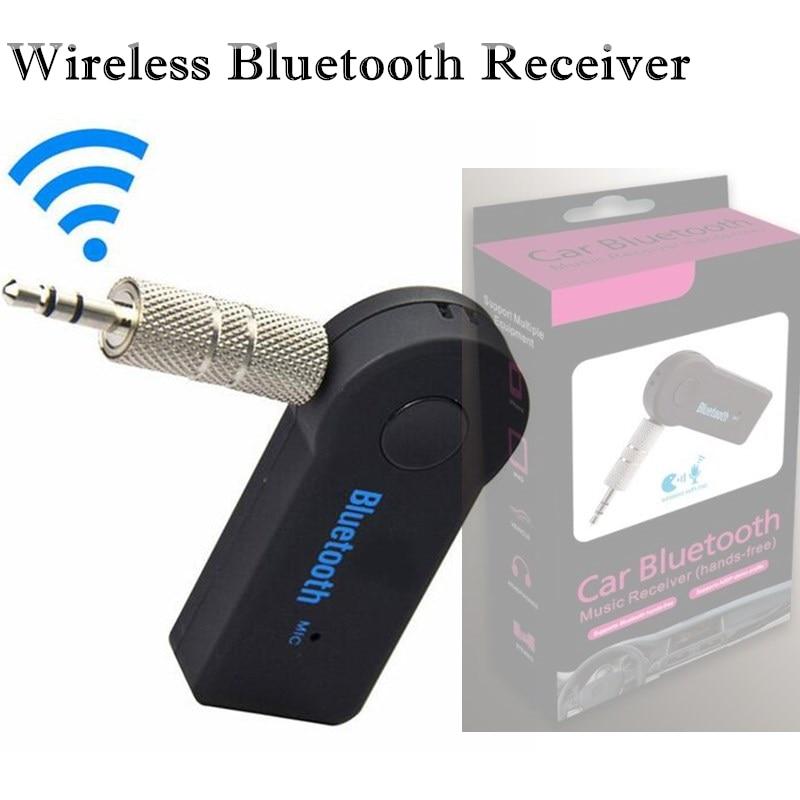 30 Stücke Drahtlose Bluetooth Empfänger Auto Lautsprecher Kopfhörer Adapter 3,5mm Audio Stereo Musik Empfänger Hause Hände-freies Bluetooth Stecker Kunden Zuerst Tragbares Audio & Video Unterhaltungselektronik