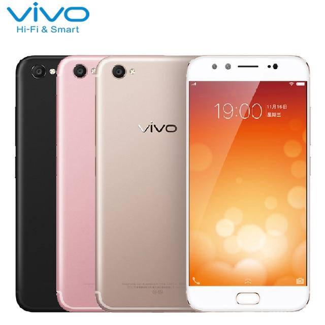 Original VIVO X9 4G Mobile Phone 4GB RAM 64GB ROM MSM8953 Octa Core 5.5 inch 20MP+8MP Camera Android 6.0 Fingerprint Smartphone
