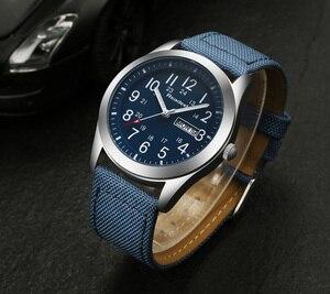 Image 4 - Мужские наручные часы Readeel, роскошные Брендовые спортивные часы с кварцевым ремешком в стиле милитари, 2019