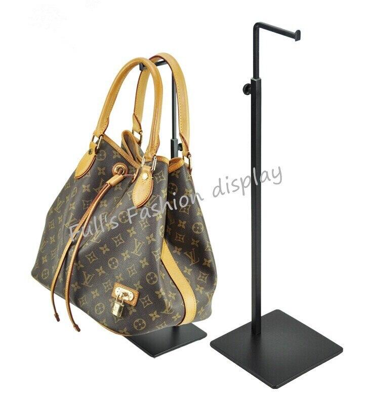 10pcs Black adjustable metal Women s Bag Display Stand Holder desktop stand handbag display rack holder
