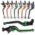 Mixed Colors Regular CNC Brake Clutch Levers For Kawasaki Z750 Z800 Z 750 800 E version 2007-2015 Motorcycle Long Lever