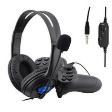 Gaming Headset For PS4 Wired Headphones With Microphone 3.5mm Deep Bass Earphone