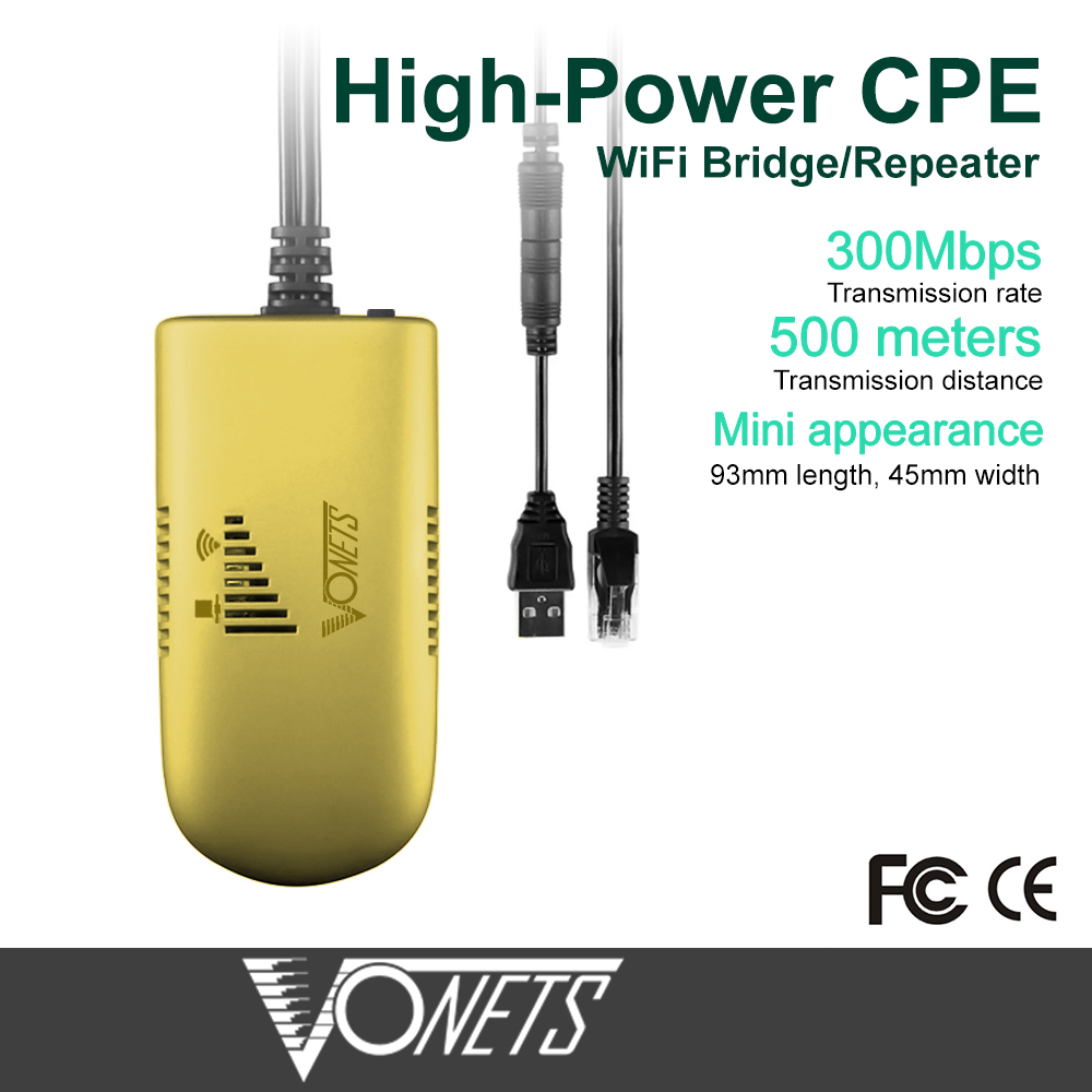 VAP11G-500 répéteur WiFi haute puissance sans fil de qualité industrielle/Client AP/pont/Booster/Extender/amplificateur 500 mètres - 2