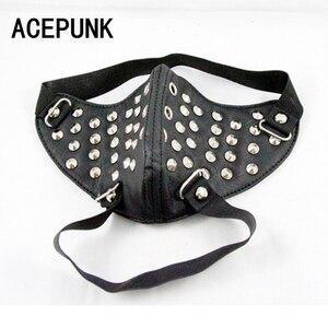 Image 4 - Классная мужская маска для косплея в стиле хип хоп, цвет черный
