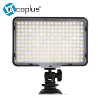 Mcoplus 198 Bi Color 3200K/7500K LED Video Light Kit for DV Camcorder & Canon Nikon Pentax Olympus Digital SLR Camera