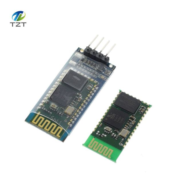 1pcs  HC06 HC-06 Wireless Serial 4 Pin Bluetooth RF Transceiver Module RS232 TTL for Arduino bluetooth module