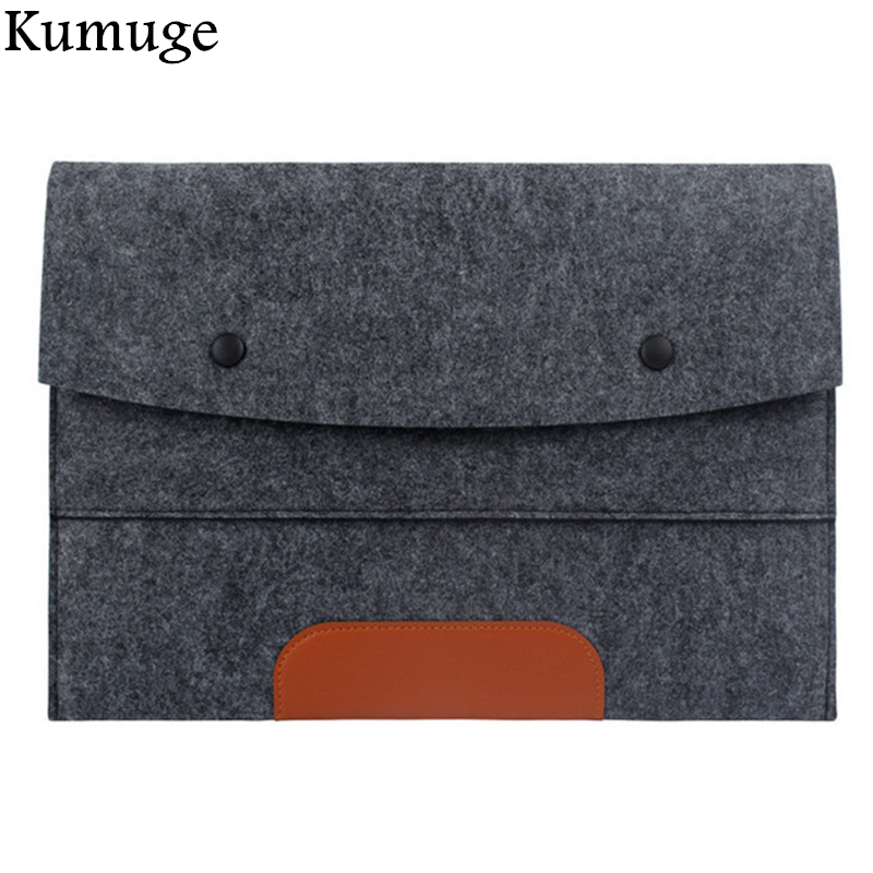Ultra Thin Laptop Sleeve Pouch Bag for Macbook Air Pro Retina 11 13 15