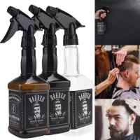 500ML Hairdressing Spray Bottle Salon Barber Hair Tools Water Sprayer 2u0726