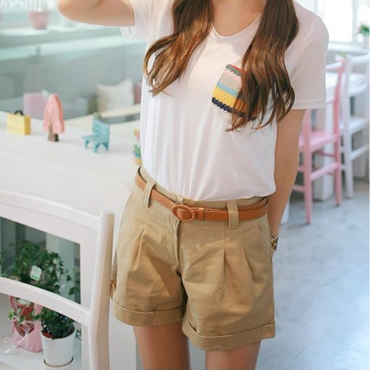 Online Shop New Arrival 2015 Summer Fashion Women Shorts Casual ...