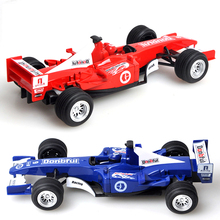 Classic toys alloy Pull back F1 Formula car model toys Boy toy Xmas gift Brinquedos vehicle Sports car toy Red and blue color