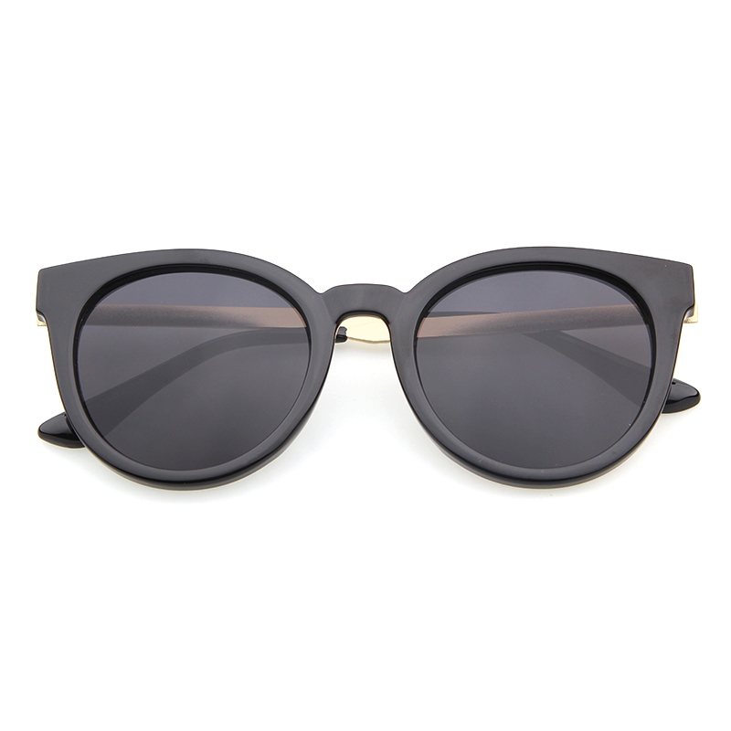 ADE WU Cat Eye Sunglasses Women Famous Brand Designer Oval Sunglasses For Women UV400 Mirror Sun Glasses Shades Female Eyewear
