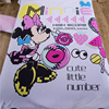 Orchid Color Minnie Mouse 100 Cotton Bedding Set For Girl S Home Decor Cartoon Comforters Twin