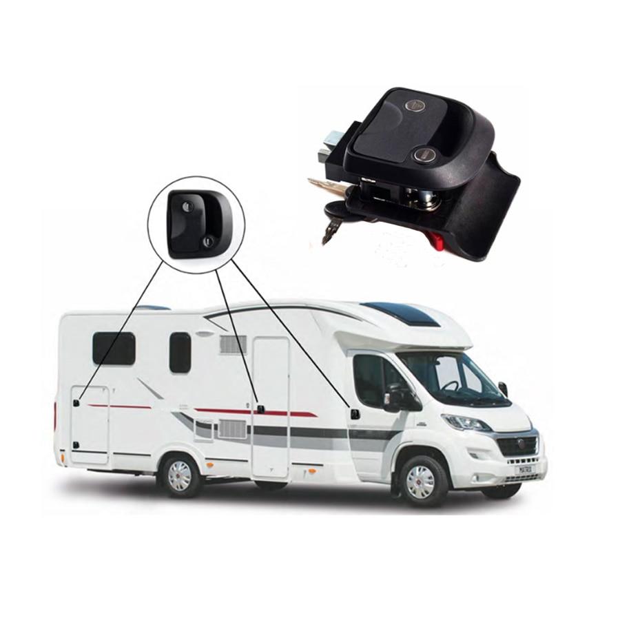 Encell P10 Push Lock Button Door Knob RV Cabinet Drawer Caravan Motor Home Cupboard Cabinet Drawer Push Latch