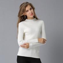 2018 NEW Sweater Shirt Women Jumper Winter Wool Elasticity Sweater Long Sleeve Women Knitwear Royal Blue Female Pullover Tops