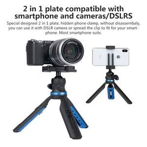 Image 2 - APEXEL 2 en 1 support de téléphone trépied DSLR caméra téléphone extensible trépied pour Gopro xiaomi iPhone Smartphone