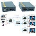 IP Netzwerk USB 2.0 KVM Extender Mit Ir-steuerung 1080 P HDMI Über LAN KVM Extender 120 mt HDMI KVM Extensor Durch RJ45 Cat5 Cat5e Cat6
