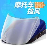 Motorcycle Windscreen Airflow Deflector Windshield For HONDA CBR400 CBR23 NC23 CBR400RR CBR 400 RR MC23 1988 1989