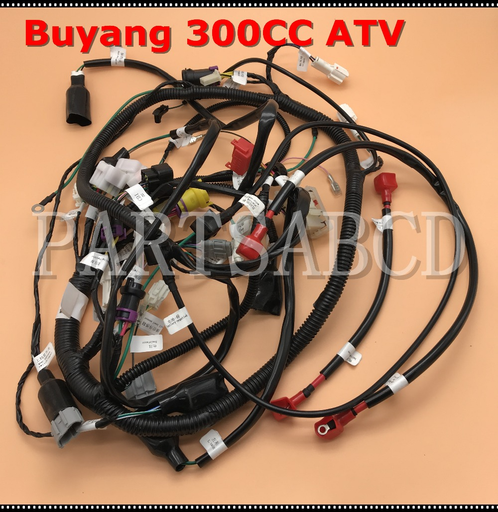 buyang feishen fa d300 wire harness assy 5 3 01 0063 in atv parts rh aliexpress com