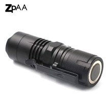 ZPAA Mini LED Flashlight 3800 Lumens CREE XM-L L2 LED Tactical Flashlight LED Torch Penlight  4 Modes for 16340 Battery