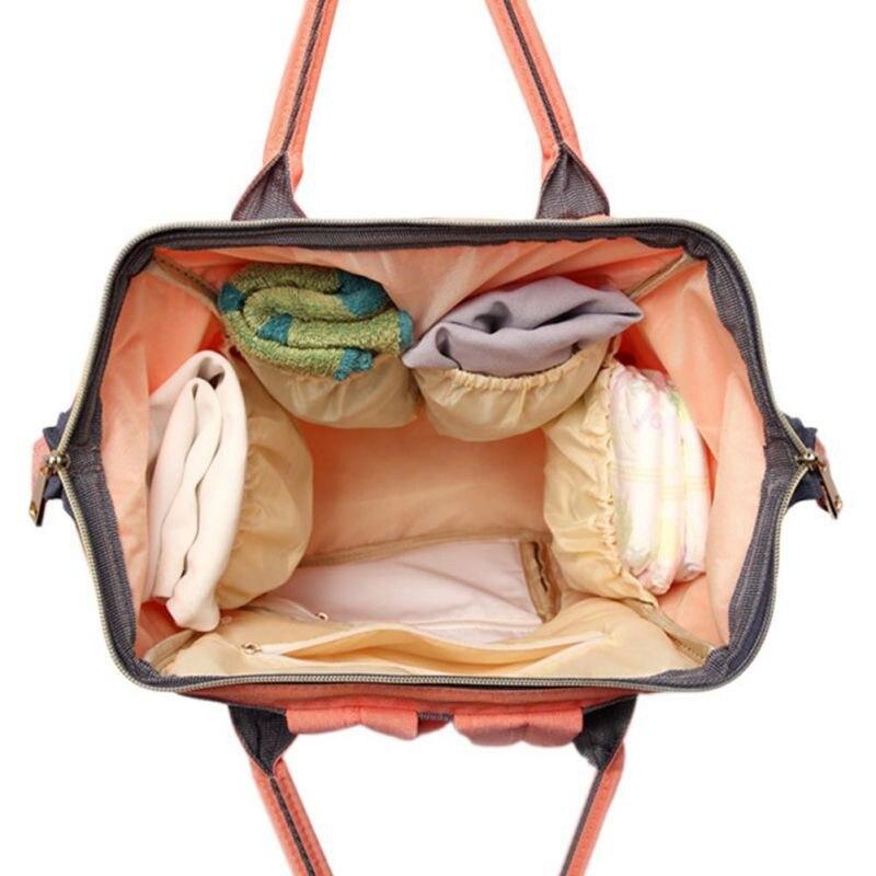 Moda mama kobiety w ciąży torba na pieluchy mama plecak duża - Pieluchy i Trenowanie toalety - Zdjęcie 3