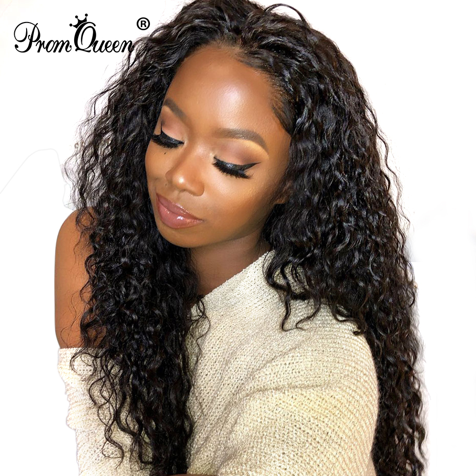 Jerry Curly Human Hair Wigs Bleached Knots Brazilian Virgin Hair 13*4 Lace Frontal Wig Pre-Plucked 150% Density Human Hair Wigs