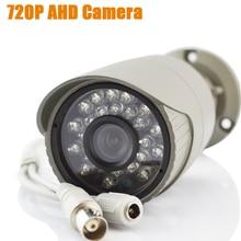 AHD камеры 720 P крытый пуля инфракрасный ИК-светодиодов hd 1mp аналоговый наблюдения день ночь безопасности cctv камеры с кронштейн