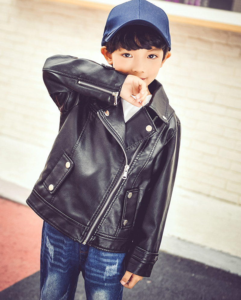 5103c33149b7 Spring Autumn girls outerwear boys girl jackets and coat boy faux ...