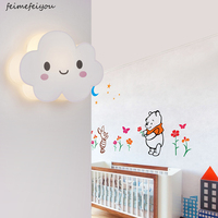 Cloud wall lamp Decor Light LED Night Light Wall Decor Battery Operated Table Lamps for Party Children Kids Bedroom
