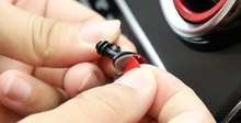 8 PCS Mini Adhesive Car Charger Cable Clip