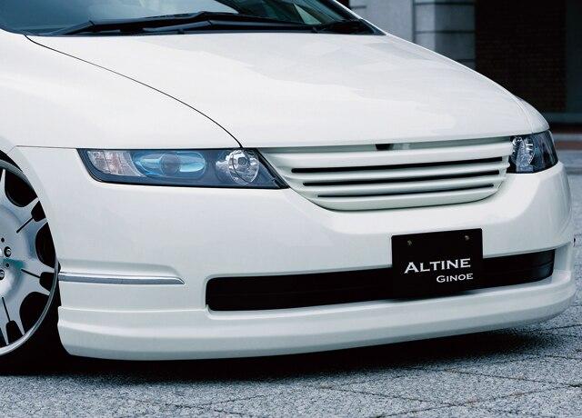 Lèvre avant FRP pour HONDA Odyssey RB1/2 (2005-2008) avant en Fiber de verre ALT sous le becquet (Facilifed) Kit de carrosserie Tuning Odyssey Racing
