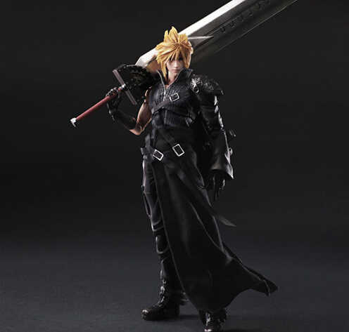 Final Fantasy Action Figure oyna sanatları Kai bulut Strife koleksiyon Model oyuncak oyna sanatları Final Fantasy bulut Strife Playarts PA34