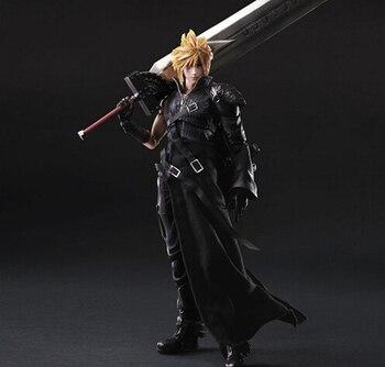 Final Fantasy фигурку Играть искусств Кай Cloud Strife Коллекция Модель игрушки Играть искусств Final Fantasy Cloud Strife Playarts PA34 >> Torankusu Official Store
