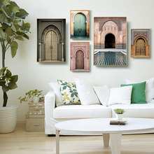 Landscape Wall Art Canvas Painting Decorative Picture Nordic Poster Art Print  Painting Vintage Poster Morocco Poster Unframed постер poster art 50305025 мдф