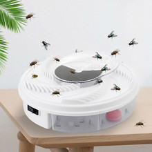 1PCS USB Powerd Electric Mosquito Trap Anti Fly Killer Trap Pest Catcher Bug Insect Repellents With Trapping Food Pest Control