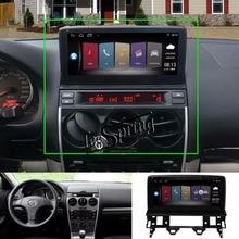 10.25 дюймов повышен оригинальный Автомобильные CD-плееры для Mazda 6 GPS навигации MP5 Wi-Fi смартфон Зеркало-link Bluetooth (no dvd)