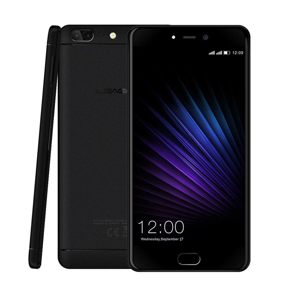 Leagoo T5 MTK6750T Octa Core 4 GB + 64 GB 13MP + 13MP + 5MP 4G téléphone intelligent 5.5 pouces S.14