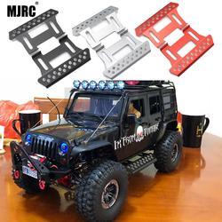 MJRC SCX10 2 sztuk boczne metalowe pedał do 1/10 RC śledzone pojazdów osiowe SCX10 pedał części zamienne w Części i akcesoria od Zabawki i hobby na
