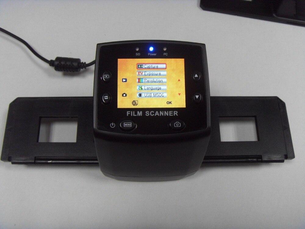 REDAMIGO 5MP 35mm Portátil cartão SD Visualizador de Filme Foto de digitalização Scanners de Slides Filme Negativo Scanner monocromático USB MSDC EC717-U