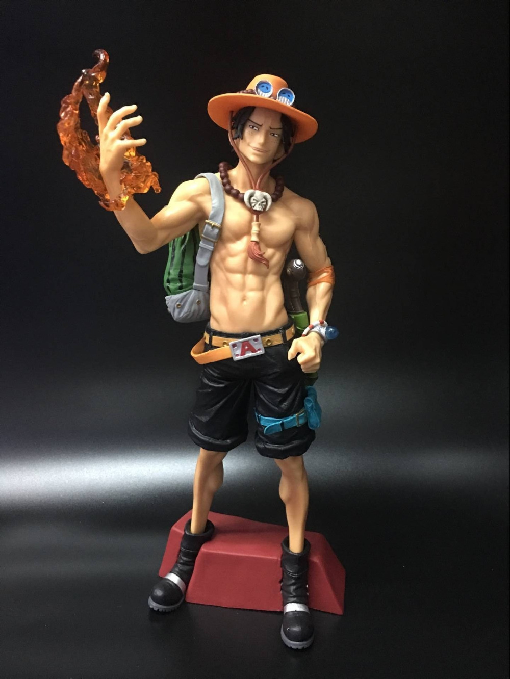 Anime Action Figure One Piece Super Master Stars Piece MSP Fire Punch The Portgas D Ace