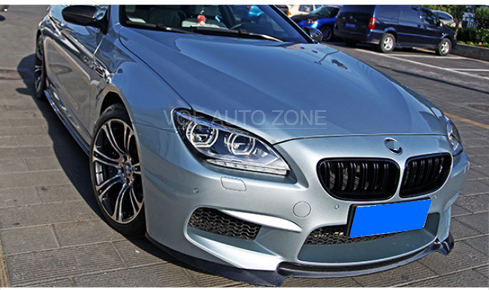 F06 F12 F13 M Style Kidney ABS Carbon Fiber Front Racing Grill Grille For 2011 2016 BMW 6 Series 630i 640i 650i Matte Black Gloss 3 Color