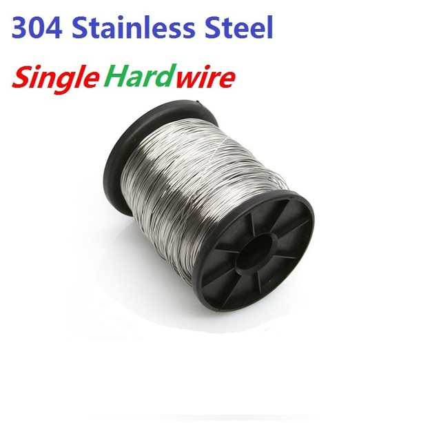 High Quality 304 Stainless steel wire Diameter 0.1/0.2/0.3/0.4/0.5 ...