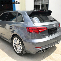 A3 Modified OE Style Rear Roof Luggage Compartment Spoiler Car Wing For Audi S3 RS3 Typ 8V SLINE Sportback 2014 2018