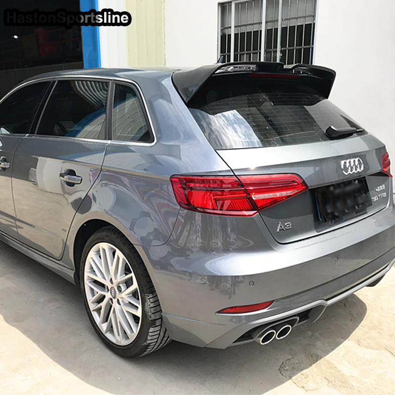 A3 modifié Style OE toit arrière compartiment à bagages aileron aile de voiture pour Audi S3 RS3 Typ 8 V SLINE Sportback 2014-2018